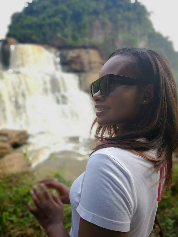 Let's chase the waterfalls in Zongo, Congo RDC.