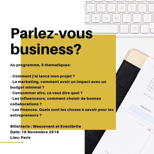 Parlez-vous business?